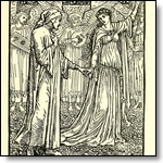 Walter Crane Illustrations for Dante
